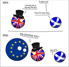 Indépendance de l'Ecosse vs #BREXIT