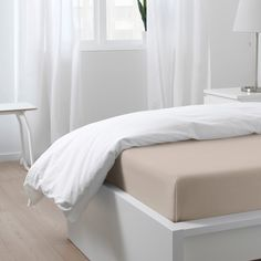Купить НАТТЭСМИН Простыня, светло-бежевый, 240x260 см в интернет-магазине - IKEA Shades Of Beige, Light Beige, New Room, Sheet Sets, Linen Bedding, That Way, Bed Sheets, Home Furnishings, Mattress