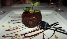 Homemade chocolate brownie served at Spajza Chocolate Brownies, Chocolate Fondue, Homemade Chocolate, Restaurant, Cake, Desserts, Drink, Food, Chocolate Chip Brownies