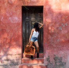 """Maleta """"Tacana"""" disponible en nuestra tienda en línea/ Available in our online store"""