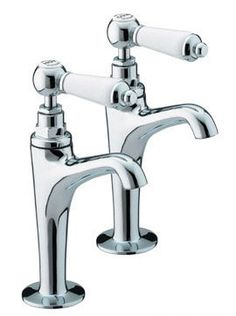 Bristan Renaissance High Neck Pillar Taps, Chrome RS HNK C  View the full range of Bristan Taps available from Trading Depot by clicking here: http://www.tradingdepot.co.uk/DEF/catalogue/O023001/Kitchen%20&%20Bathroom%20Taps/By%20Manufacturer/Bristan%20Kitchen%20&%20Bathroom%20Taps