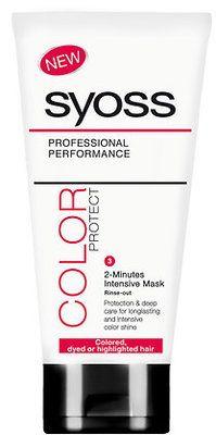 Syoss hajpakolás Color Protect - Színvédő 200 ml