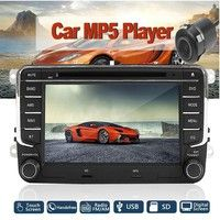 "7"" DVD Player Radio GPS Sat Stereo & Camera For VW Passat Golf Transporter T5 Important note If yo"