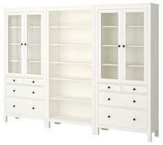 HEMNES Storage Combination - traditional - bookcases cabinets and computer armoires - IKEA