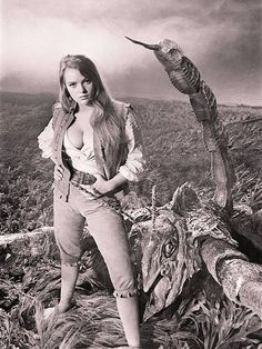 Another promotion shot for THE LOST CONTINENT from Hammer films.