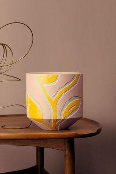 Stine Goya Designs series of ceramic vases and pots for Kähler - NordicDesign - Cool Ceram . Stine Goya Designs series of ceramic vases and pots for Kähler – NordicDesign – Cool Ceramics Ceramic Pots, Porcelain Ceramics, Ceramic Pottery, Pottery Art, Fine Porcelain, Painted Ceramics, Slab Pottery, Thrown Pottery, Pottery Studio