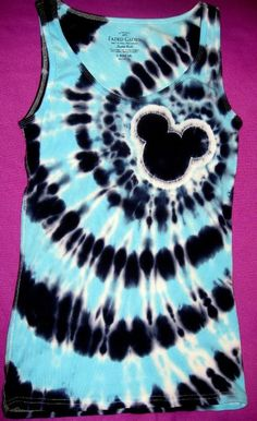 Tie Dye Instructions for Spiral Mickey Shirt - Page 163 - The DIS Discussion Forums - DISboards.com