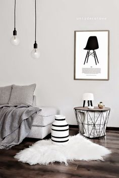 Pon una alfombra de pelo en tu vida!!! | Decorar tu casa es facilisimo.com