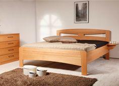 EVITA 2 postel, přírodní