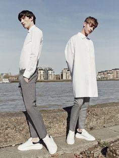 Jester White & Ben Allen by Rokas Darulis - Arena Homme + Korea, May 2015.