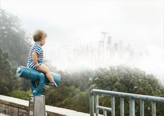 Maddex, a 1 1/2 year old boy from Seattle, Washington was born into a life of superherodom thanks to his awesome pro photographer dad, Brandon Hill. Putting his camera skills to work, Hill creates wondrous photos of his son living out some very adventurous daydreams.Whether casually relaxing on the iconic signage over Seattle's famous Pike [...]