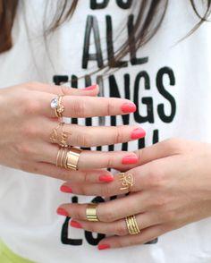 lots of rings