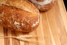 Italian Bread    INGREDIENTS    2 pkg. active dry yeast  2 cups of warm water  1 tsp salt  6 cups of all-purpose flour