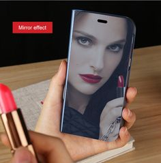 iPhone 6 Case,iPhone Case,PHEZEN Luxury Mirror Makeup Case Plating PU Leather Flip Folio Wallet Case [Kickstand Feature] Magnetic Closure Full Cover Case for Apple iPhone (Silver) Apple Watch Accessories, Ipad Accessories, Luxury Mirror, Standing Mirror, Wearable Device, Makeup Case, Galaxy Note 10, Protective Cases, 6s Plus