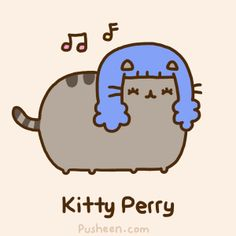 Cute Katy Perry, I mean Kitty gif! x3