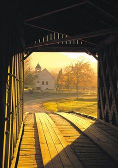Fleming County Kentucky Covered Bridge