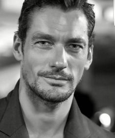 davidgandy_official#lcmss17 See I told you I smile at shows. Well kind of. Or maybe it was because of the brilliant @belstaff show today. Thank you @hannahcassidycreative for this shot
