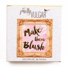 Pretty Vulgar Mirror, Mirror Make Them Blush Powder Blush Review, Photos, Swatches