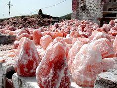 Extracción de sal del Himalaya