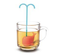 【かわいい】紅茶の中を泳いでいるみたい! ティータイムが楽しくなるキュートなくじらのティーバッグ
