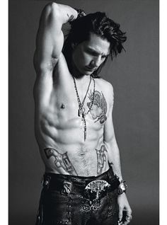 Tom Cruise - Rock Of Ages for W Magazine