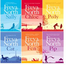 Freya North - Holiday vice Loved them all. And have kept them all. Wouldn't part with them