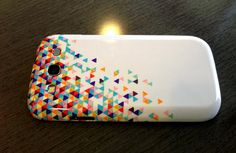 Samsung Galaxy S3 Case Funfetti 2 by AbstractGraphDesigns on Etsy $35