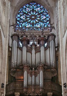 The Church of Saint Ouen, Rouen contains a large four-manual pipe organ built in 1890 by Aristide Cavaillé-Coll (1811–1899), a French organ builder. He has the reputation of being the most distinguished organ builder of the 19th century. This instrument is considered to be one of the most important organs in France, & is notable for its unusually powerful 32' Contre Bombarde. The organ stands unaltered & thus is one of the few of the master's works to speak with its original voice.