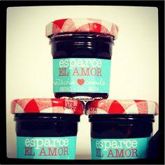 Mini mermeladas!! Esparce el amor!!