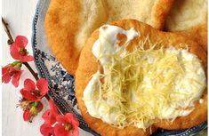 Langos (petits pains frits), une spécialité hongroise