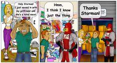 StorMan comics!