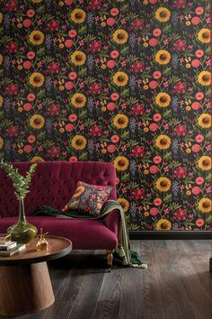 231 best floral wallpaper images in 2019 designer wallpaper rh pinterest com
