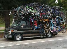 Too much bikes...