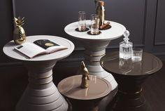 Vismara Design luxurious and elegant Side tables. #perfection