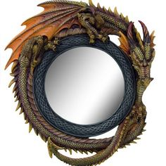 Dragon Themed Item-Mirror