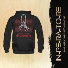#Skenderbeu #Skanderbeg #follow #albanian #instagood #prishtina #tirana #ferizaj #kosova #ledrivula #Shqipe #HISTORY #like #shqiperia #tshirt #fashionstyle #streetstyle #red #black #tba Ova, Hooded Jacket, Athletic, Street Style, T Shirt, Jackets, Black, Fashion, Moda