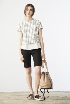 Elizabeth and James Resort 2015 Womenswear Lookbook  Via http://www.nylonmag.com/articles/elizabeth-and-james-resort-2015#