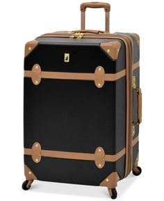 "London Fog Retro 28"" Expandable Spinner Suitcase"