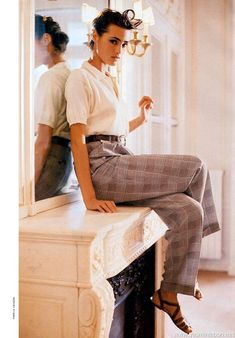 Yasmin Le Bon for Vogue Paris, March 1988
