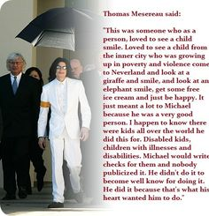 Thats why I <3 Michael! I wish more people would see michael this way instead of listening to all the rumors