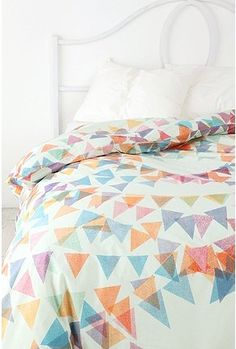 Want! The Garland Duvet Cover