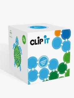 CLIP IT, jeu d'assemblage durable et 90% surcyclé