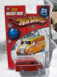 Hot Wheels Dairy Delivery Holiday 2006, Limited Edition, in sealed Package.