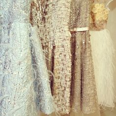 Ballerina inspired dresses - certainly designed to make you feel magical!