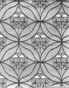 Wallpaper Design by Emanuel Josef Margold Mehndi, Henna, Embroidery Patterns, Print Patterns, Pattern Designs, Textile Design, Fabric Design, Designer Wallpaper, Wallpaper Designs