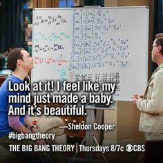 The Big Bang Theory Leonard Hofstadter Sheldon Cooper Penny Howard Wolowitz Rajesh « Raj Big Bang Theory Funny, The Big Band Theory, Math Quotes, Funny Quotes, Grammar Jokes, Rap, Tv Times, Bigbang, Bangs