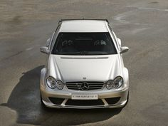 2005 MERCEDES-BENZ CLK DTM  Brilliant Silver with Black Racing Seats