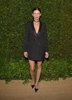 All-black-look-with-blazer-dress.jpg (459×640)