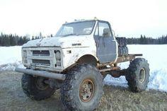 Chevrolet C60 Napco 4x4 conversion 6x6 Truck, Gm Trucks, Diesel Trucks, Cool Trucks, Pickup Trucks, Lifted Trucks, 67 72 Chevy Truck, Chevrolet Trucks, Vintage Tractors
