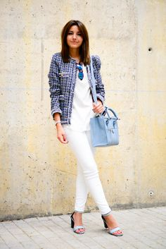 blazer with casual outfit